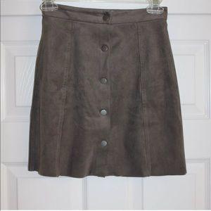 827e36669 Aritzia Skirts   New Denim Skirt Step Hem 4 Nwt   Poshmark